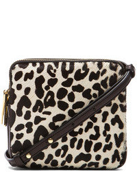 Paloma crossbody in black white leopard medium 82469