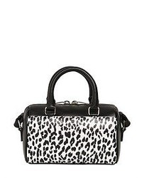 Saint Laurent Leopard Printed Leather Toy Duffle Bag