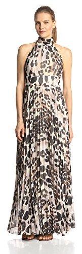 Eliza J Halter Animal Print Maxi Dress 587da7865