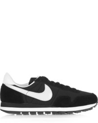 Nike Air Pegasus 83 Suede Leather And Mesh Sneakers