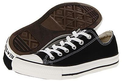 ... Converse All Star Chuck Taylor Shoes Black White Low Top New Without Box c05490aed3a8