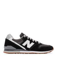 New Balance Black 996 Sneakers
