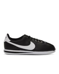 Nike Black Cortez Basic Sneakers