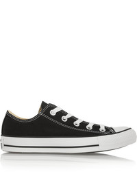 Converse Chuck Taylor All Star Canvas Sneakers Black