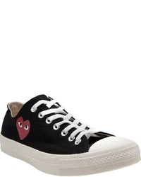 Comme des garons play low top sneakers medium 25422