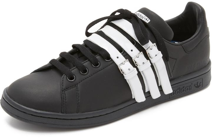 the best attitude 0719b 8913d $460, adidas Raf Simons Stan Smith Strap Sneakers