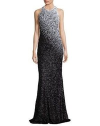 Ombre sequin gown medium 1253192
