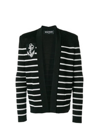 Balmain Striped Cardigan