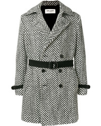 Black and White Overcoat
