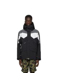 BAPE Black Colorblocked Classic Snowboard Jacket