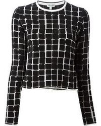 Squares sweater medium 69264