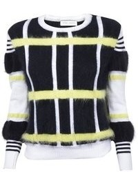 Tanya Taylor Keaton Plaid Sweater