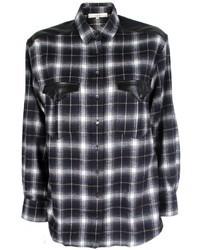 IRO Britton Chemise Plaid Shirt