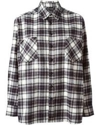 Each x other life is great plaid shirt medium 100654