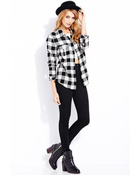 Forever 21 Lazy Day Plaid Shirt