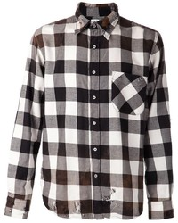 Axel plaid shirt medium 117160