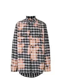 Bleached print shirt medium 8308928