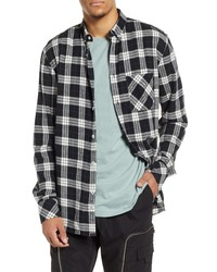 Zanerobe Checker Plaid Flannel Shirt