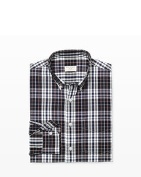 Club Monaco Slim Fit Tri Plaid Shirt