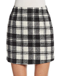 Plaid mini skirt medium 438857