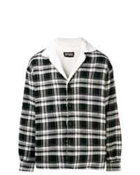 Represent Plaid Shirt Jacket