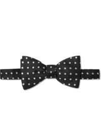 Favourbrook Pre Tied Polka Dot Silk Jacquard Bow Tie