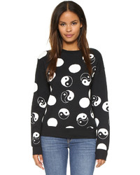 Etre Cecile Yin Yang Boyfriend Sweater