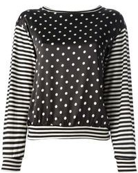 Labour of love printed sweater top medium 84272