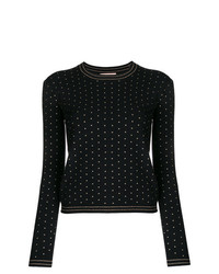 Twin-Set Mini Stud Fitted Sweater