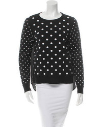 Veronica Beard Polka Dot Sweater