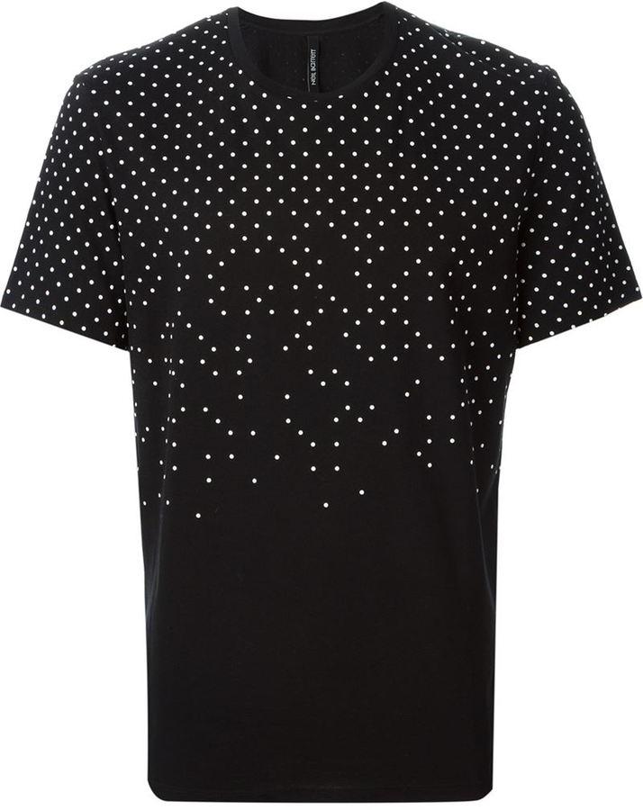 ... Neil Barrett Polka Dot T Shirt