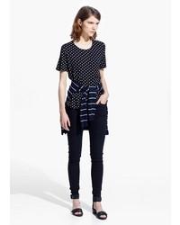 Polka dot t shirt medium 182471