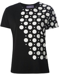 Ungaro emanuel polka dot print t shirt medium 182465