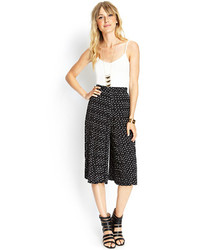 Woven pleated culottes medium 78368