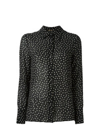 Saint Laurent Sequined Printed Shirt