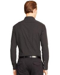 Ralph Lauren Black Label Sloan Polka Dot Poplin Shirt