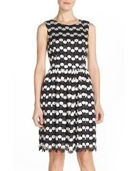 Betsey Johnson Crochet Lace Fit Flare Dress