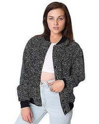 F499pdw unisex polka dot printed flex fleece club jacket medium 89065