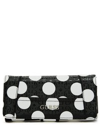 Delaney polka dot file clutch medium 175464