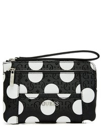 Delaney polka dot wristlet medium 175465