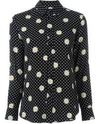 Floral crepe blouse medium 374216