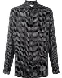 Polka dot print shirt medium 1148173
