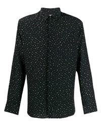 Saint Laurent Polka Dot Shirt