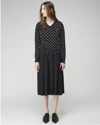 Comme des garons play polka dot pullover medium 183215