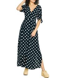 Sanctuary Love Worn Polka Dot Maxi Dress