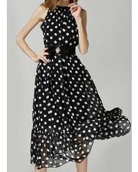 Polka dot bohemia maxi dress medium 314635