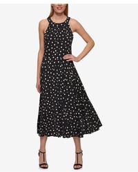 Tommy Hilfiger Polka Dot Midi Dress