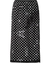 MM6 MAISON MARGIELA Polka Dot Midi Skirt