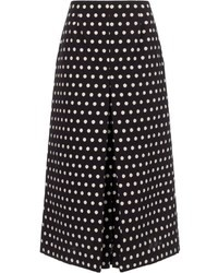 Vivetta monochrome polka lidya skirt medium 37154