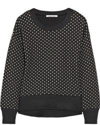 Elizabeth and James Brayden Polka Dot Cotton Blend Sweatshirt